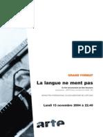 DP_La Langue Ne Ment Pas