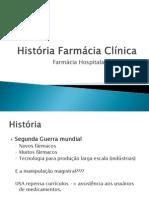 História Farmácia Clínica