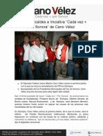 23-11-11 Se Unen Alcaldes a Cada Vez Mas Por Sonora