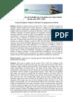 Emprego e Condições de Trabalho dos Canavieiros no Centro-Sul do Brasil, entre 1995 e 2007  Grupo de Pesquisa
