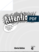 (PAGES 1-8) Attention! Developing listening and speaking skills