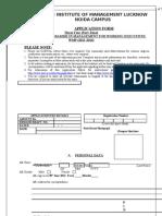 Wmp Application Form