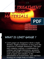Heat Treatment of Gauge Materials
