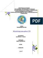 aplicacionmetodologiaDiseñoCSS