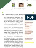 Localizacion e Instalacion de Una Huerta Hidroponica