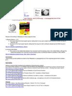 11-11-24 Wikipedia on 1) Barack Obama, and 2) #Occupy – a propaganda tool of the corporate-government complex