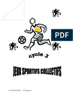 Des Jeux Sportifs Collect Ifs Au Cycle III