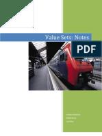 Value Set - Notes