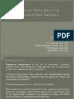 Corporate Governance in Construction Iindustry221115,221117,221122,221128