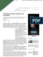 Ecommerce Le Preferenze Dei Consumatori - PMI