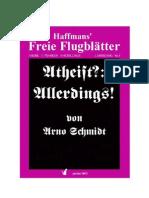(eBook - German) Schmidt, Arno - Atheist Allerdings (1957)
