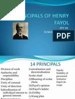 14 Principals of Henry Fayol