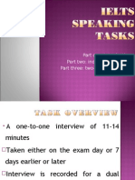 Ielts Speaking Tasks