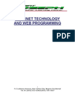Internet & Web Programming