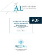 Theory and Practice of Integral Sustainable Development Pt1