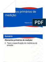 02_01 Mecanismos de Medição de Pressão