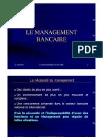 Management Bancaire