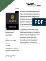 Die Botschaft Des Koran