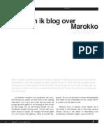 Waarom Ik Blog Over Marokko? - Zilukha Magazine