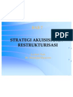 Bab 7 Akuisisi Dan Restrukturisasi