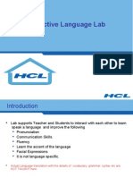 Language Lab Presentation Revised HSS