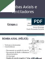 Bomba Axial apresentaçao final