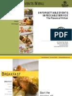 2009 Hilton Baltimore Catering Menu[1]