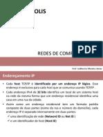 RD1 - Aulas 8 e 9 - Endereçamento IP