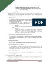 Check List - Proyectos Del rio