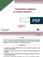Usos y Costumbres Indigenas