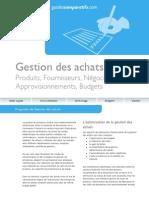 Guide Gestion Des Achats