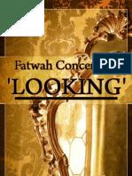 Fatwah Concerning Looking