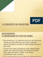 A Conquista Da Palestina