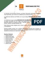 Ficha Tecnica Venco Ltda