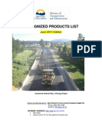 110607_MoT Recognized Products June 2011