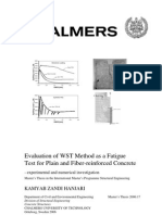 Evaluation of WST Method as a Fatigue Test for Plain and Fiber-reinforced Concrete