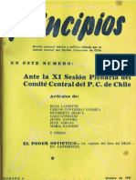 PRINCIPIOS N°4 - OCTUBRE 1941 - PARTIDO COMUNISTA DE CHILE