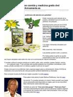 Las Hierbas Silvestres Comida y Medicina Gratis Dvd Documental de Megumi Vivir Divinamente