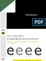 Tipos Digitales_ Tipografia - Diseño de comunicación