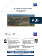 2011 Coller Prize Winner - SunRay Renewable Energy - Private Equity in the Sunshine