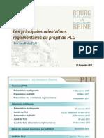 Lundi du PLU, 21 novembre 2011 - zonages et réglementations