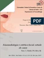 Estética Facial e Fonoaudiologia