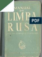 Manual de Limba Rusa [1961]