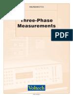 Three Phase Measurements (104-022)
