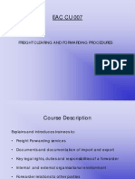 Freight Clearing and Forwarding Procedures