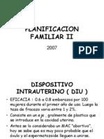 Planificacion Familiar II