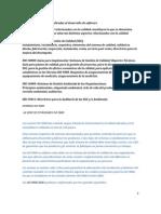 Estándares de calidad aplicadas al desarrollo de software