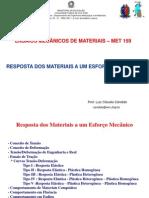 EMM - Resposta a Um Esforco Mecanico