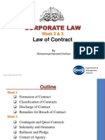 Week 2 Law of Contract