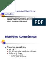 Alterações cromossômicas e abortos